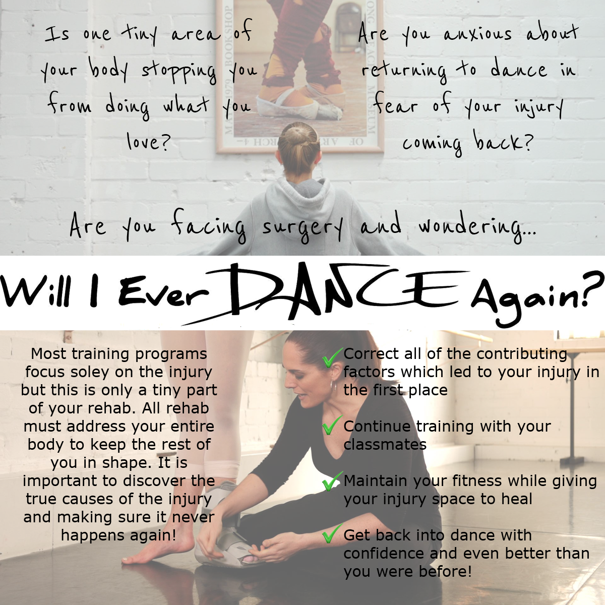 Will I Ever Dance Again?