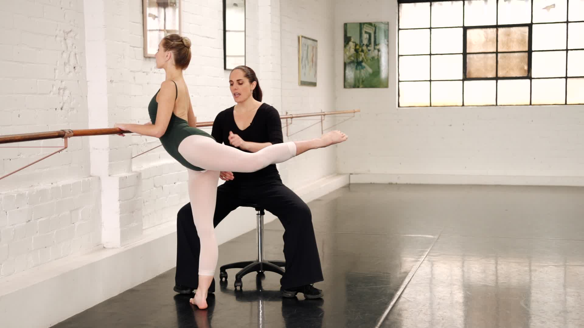 Preparation for Pirouettes