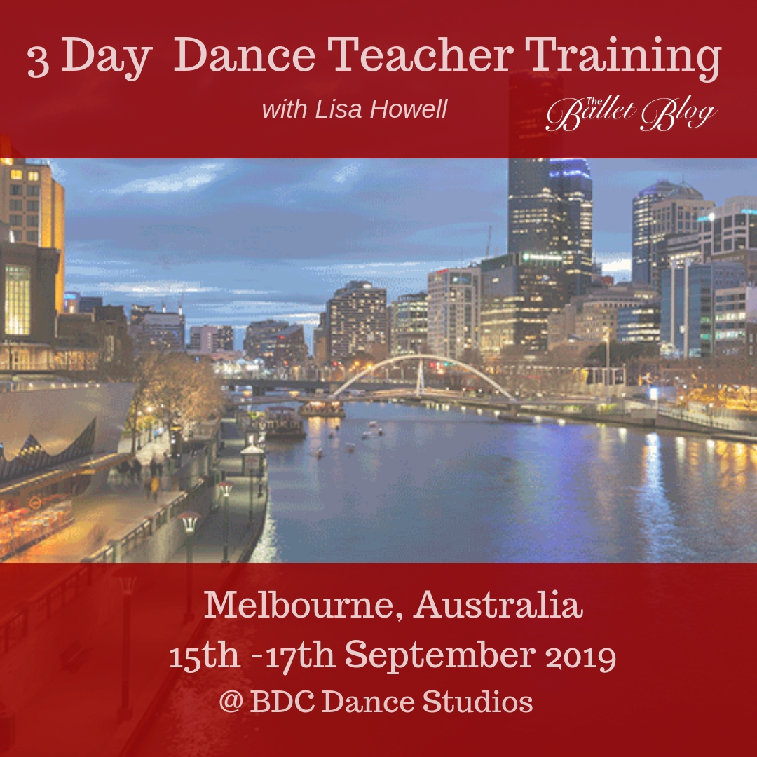 3 Day Dance Teacher Training - Melbourne, AU September 2019