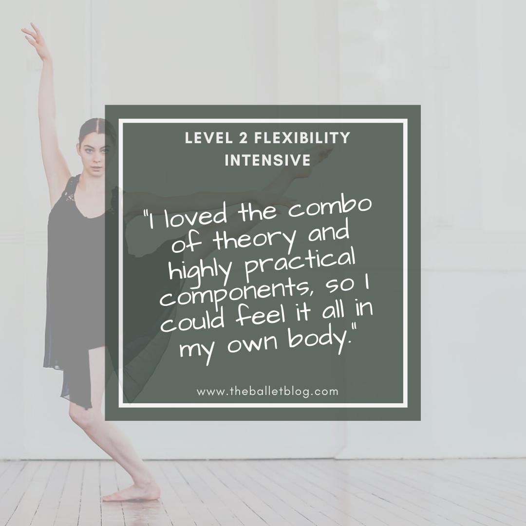 Level 2 Flexibility Intensive 1