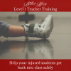 Help your injured students get back into class safely Lisa Howell The Ballet Blog Level 1 Teacher Training Workshop