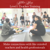 Make connections with like minded individuals Lisa Howell The Ballet Blog Level 1 Teacher Training Workshop