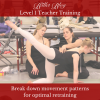 Break down movement patterns for optimal retraining Lisa Howell The Ballet Blog Level 1 Teacher Training Workshop