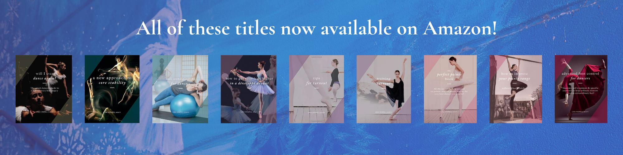 Amazon lisa howell ballet blog