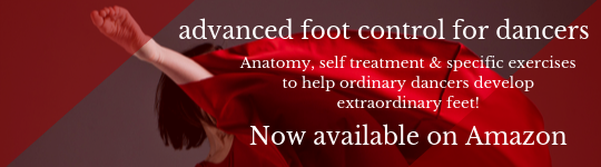Advanced Foot Control, Lisa Howell, The Ballet Blog, Amazon, Hardcopy Book