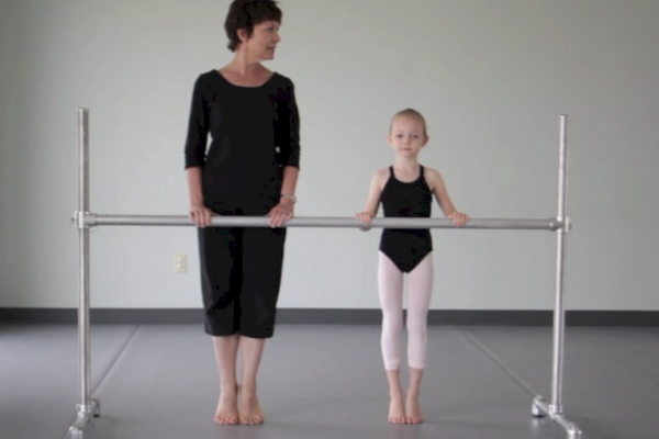 Training Turnout in Tiny Dancers