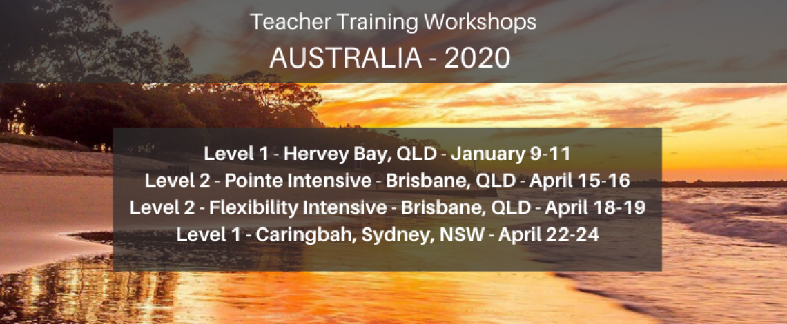 Australia 2020 Workshops Ballet Blog