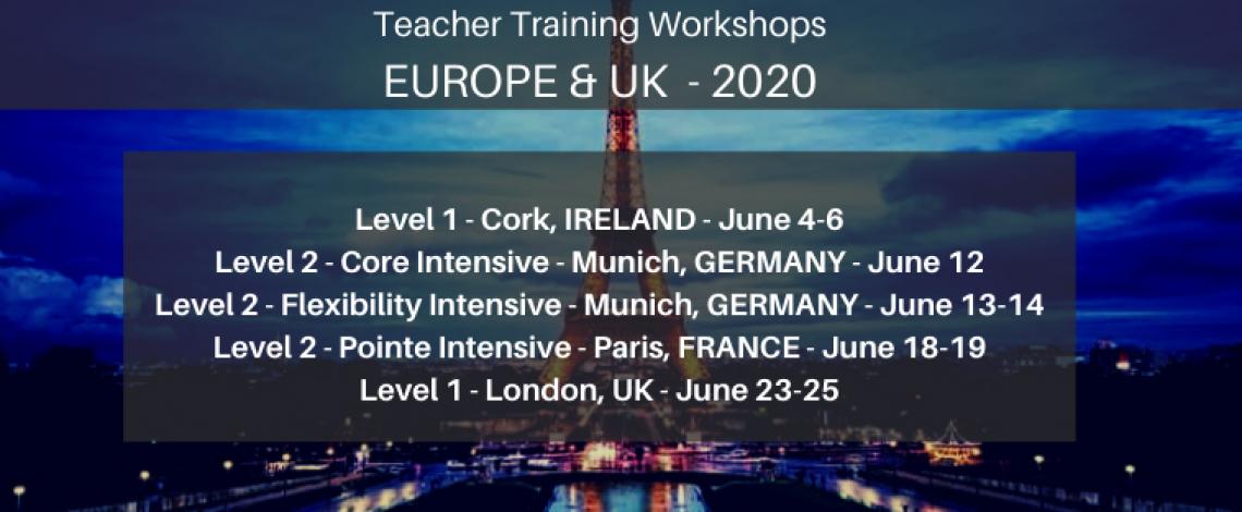 Europe UK Ballet Blog Workshops