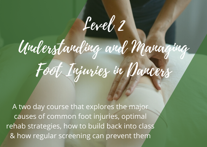 Foot injuries level 2 lisa howell ballet blog