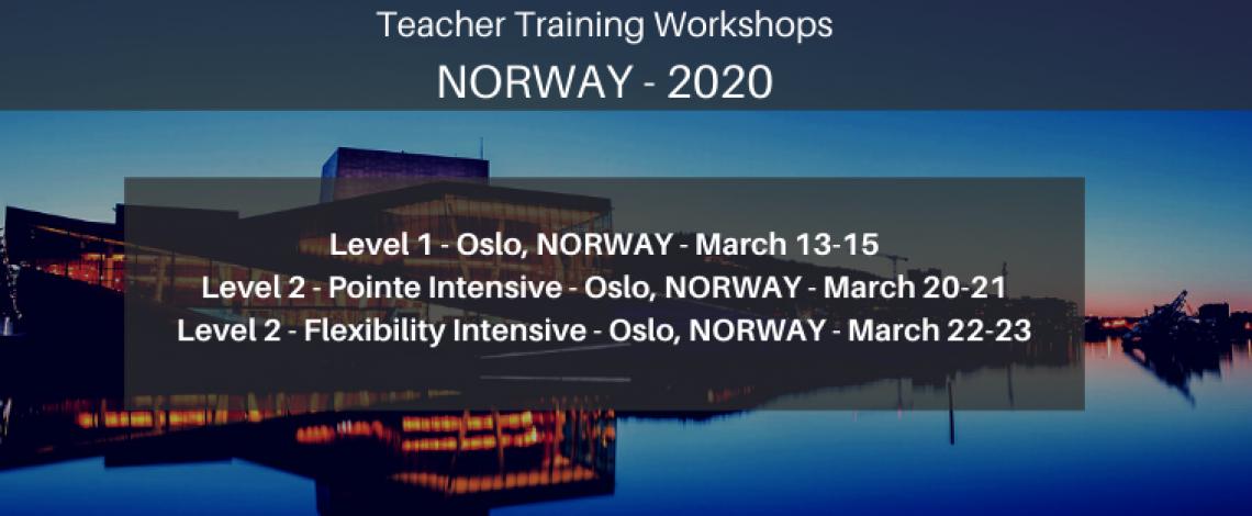 Norway Ballet Blog Workshops