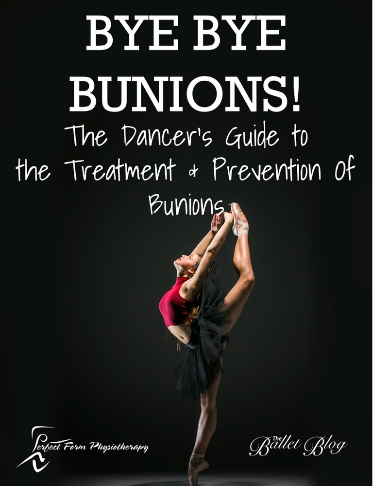 Bye Bye Bunions Injury Management Guide Lisa Howell The Ballet Blog