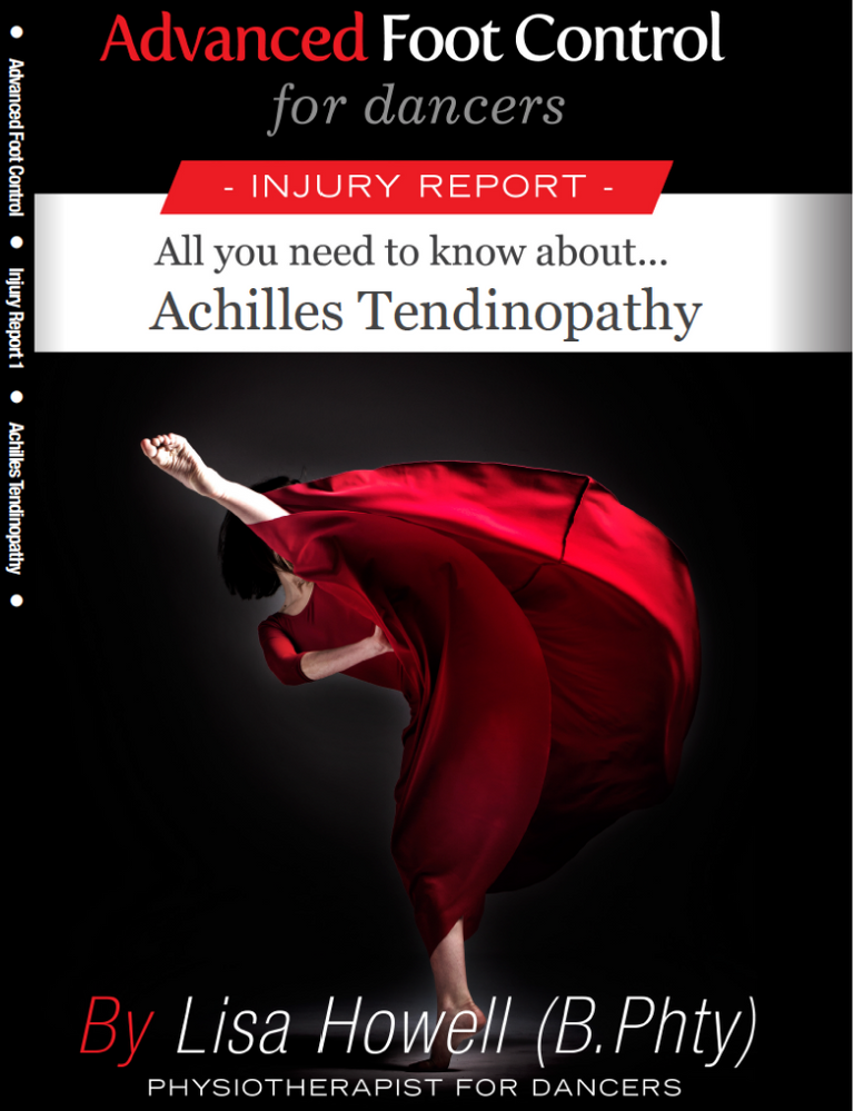 IMG Achilles Tendinopathy Product Front Cover TBB Size Lisa Howell Injury Management Guide