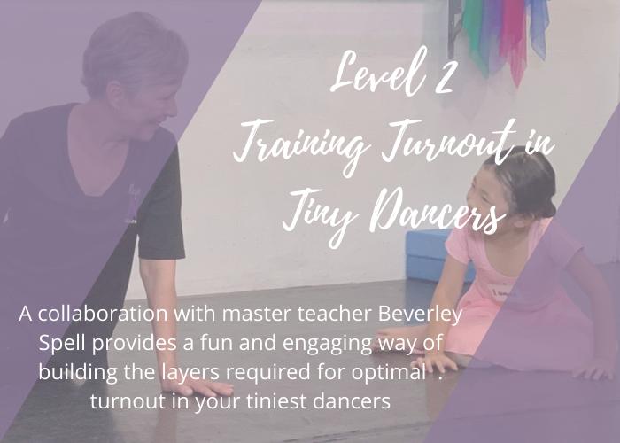 Training Turnout Tiny Dancers lisa howell ballet blog