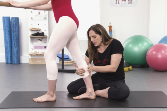 Stretch Acchilles Safely Lisa Howell Tendinopathy tendinitis calf deeper plie