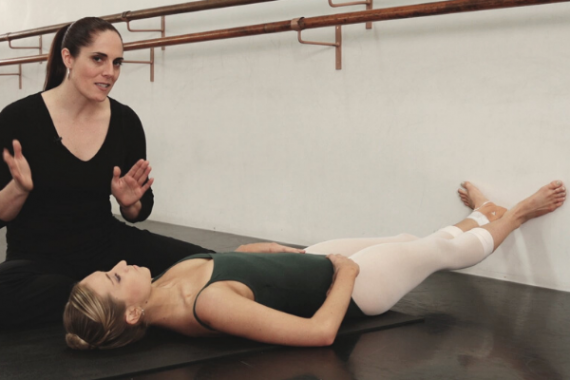 Floor barre set up lisa howell injury management the ballet blog