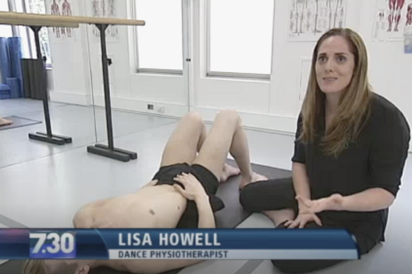 The over stretching issue hits mainstream media ABC lisa howell the ballet blog
