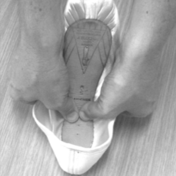 Breaking In Pointe Shoes 02