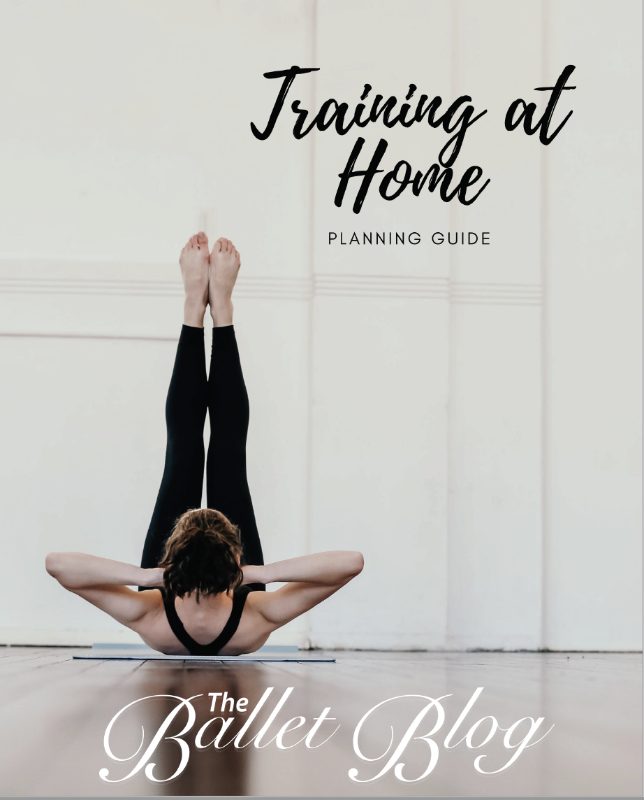Training at home PDF The Ballet Blog